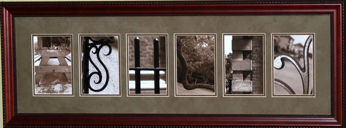 Name Art Design | Personalized Name Frames | Alphabet Letters