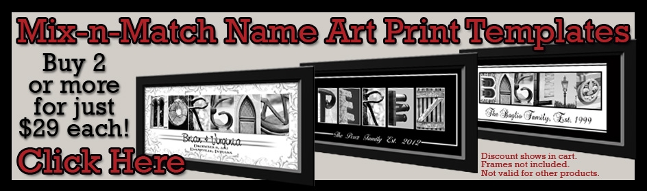 Name Art Prints