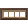 Roman Bronze Empty Frames - 3-9 Letters